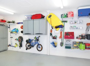 Garage-storage options