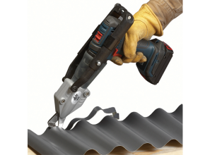 Shear for metal roofing