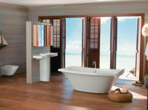 Luxurious master bathrooms