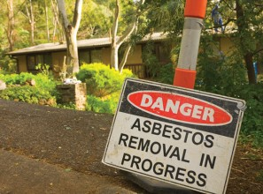 Asbestos may be in your home