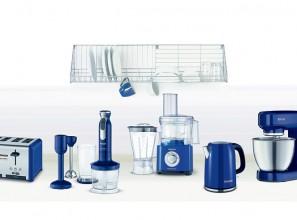 Marine blue appliances