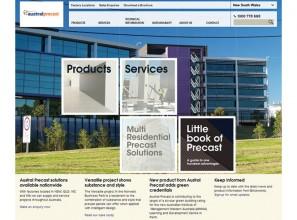 Austral Precast website
