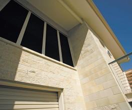 Sandstone honed masonry blocks