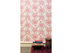Hand-printed wallpapers