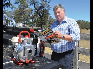 Bushfire survival pumps