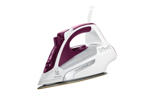 An iron that switches itself off if unattended