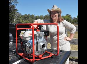 Tough pumps for bushfire emergencies