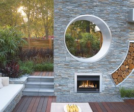 Heating outdoors-lounges