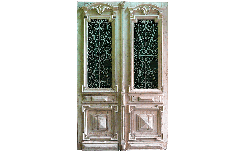 Reproduction Unique French Doors Chateau Door