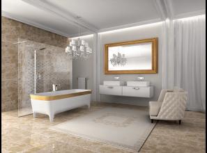 Italian-made luxurious bathware