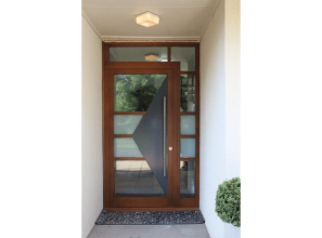 Door security and insulation options