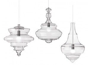 Bohemian glass lighting products