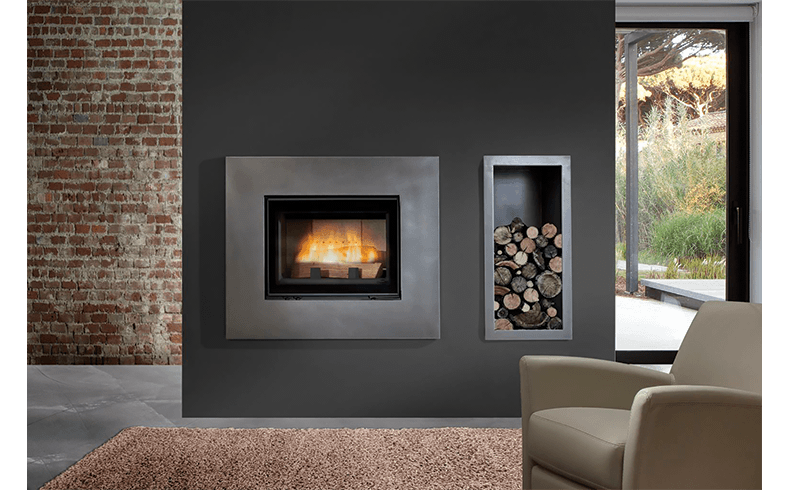 Open Door Deluxe Wood Burning Fireplaces Chazelles