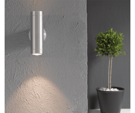 Corrosion-resistant outdoor LED light-fittings
