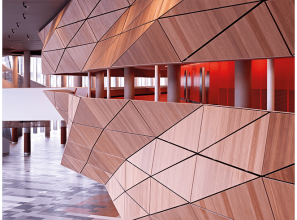 Wall panel options for commercial fitouts