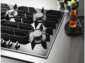 The latest German gas and induction cooktops