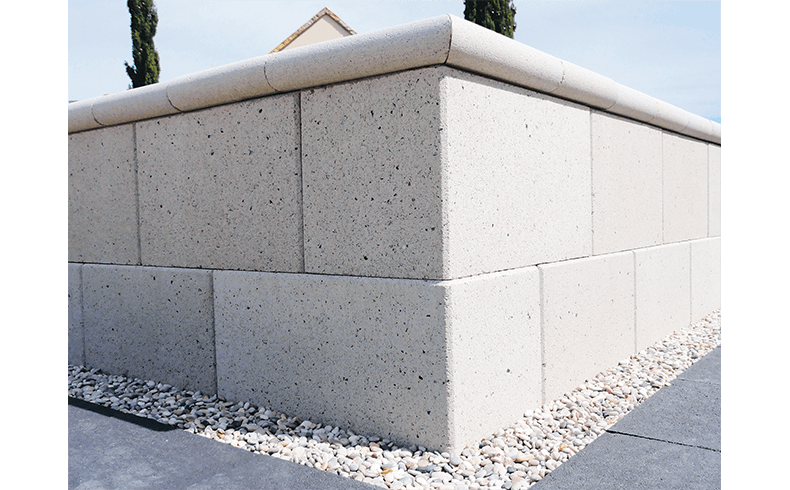 Environment Friendly Retaining Walls And Pavers Eco Blocks