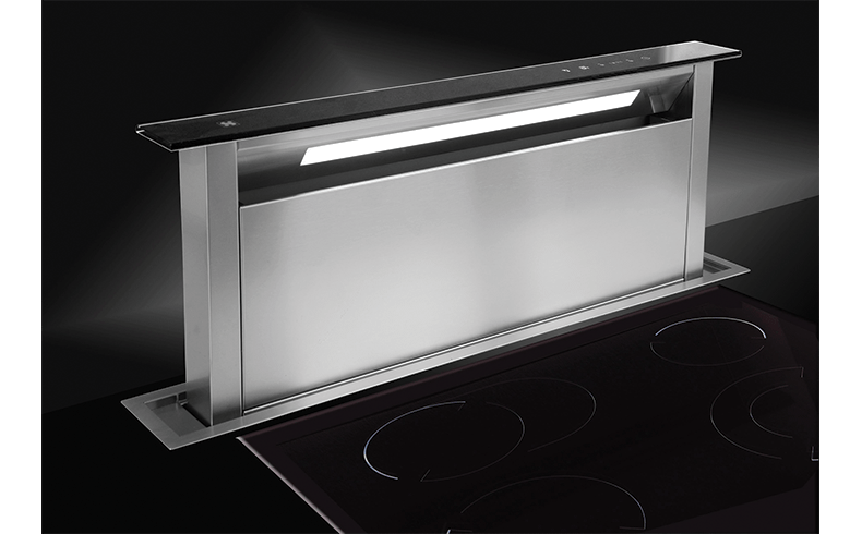Pop Up Rangehoods That Are Installed In The Benchtop Sirius