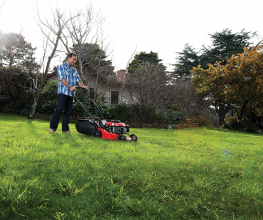 Heavy-duty self-propelled lawnmower for large lawns