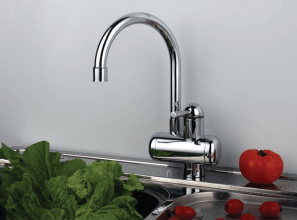 Budget-priced instant hot water taps for the kitchen