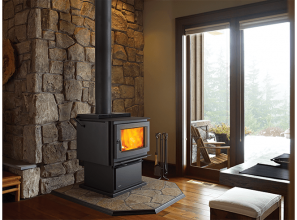 Extra-large modern woodstove heater