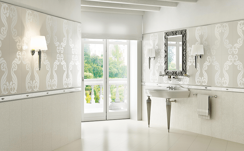 Luxurious Italian Wall Tiles For The Bathroom Piemme