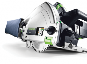 Cordless plunge cut saw for Tradie-applications
