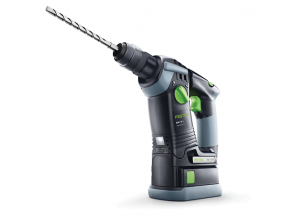 18-volt cordless hammer drill with dust collection