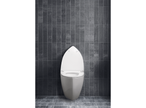 Danish-designed waterless urinal for domestic bathrooms