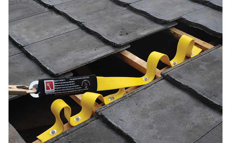 A Temporary Safety Anchor For Working On Roofs Templink
