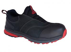 Lightweight, slip-on safety shoe