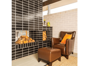 Using glazed bricks for decorative projects