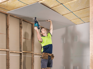 CSR Gyprock plasterboard that is both stronger and lighter