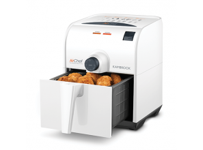 A deep fryer that requires little to no oil