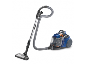 A compact vacuum cleaner