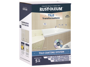 Painting old tiles with 40 colour choices