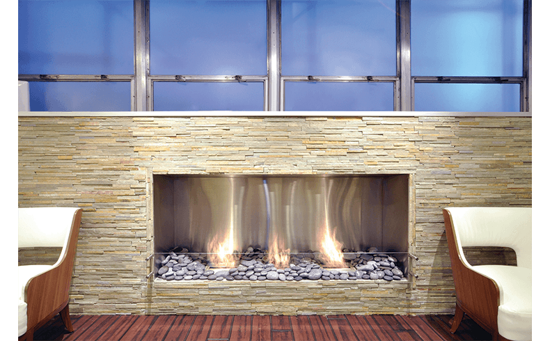 Building A Fireplace Inside An Apartment Or Office Space