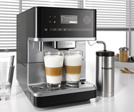 Automated benchtop coffee machine