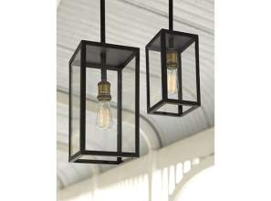 Stylish lighting for the verandah