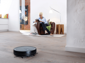 The RX1 robotic vacuum cleaner from Miele