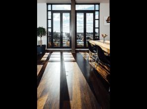 Double-glazed windows that behave like walls