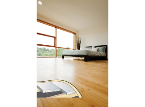 Hebel PowerFloor as a floor substrate to reduce noise and improve insulation