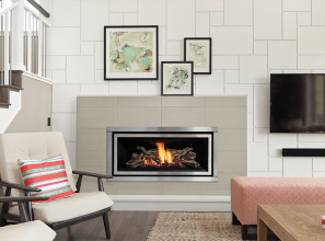 The Regency Greenfire GF900 gas fireplace