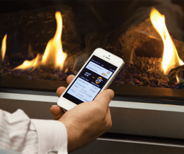 Gas fireplaces that heat an entire house via ducting