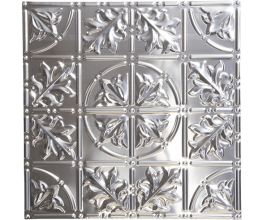 Decorating with pressed metal panels