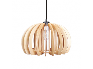 Designer pendant-lights supplied as flat-pack kits
