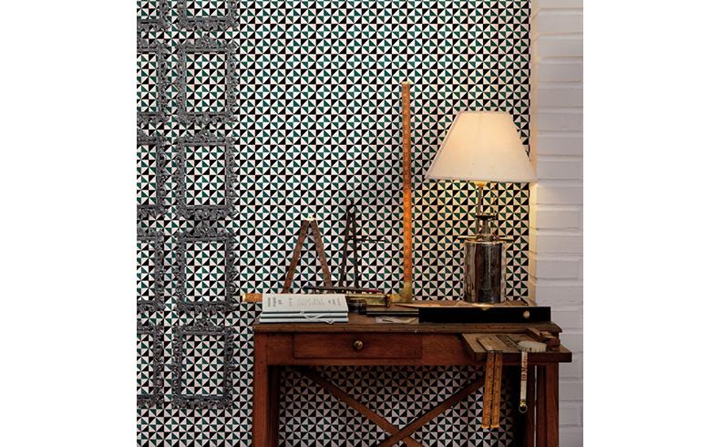 98226 Fez Tiles Wallpaper
