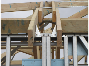 Pryda Cyclonic Grips used in Exmouth Escape Resort roof construction
