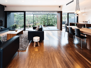 Australian species plywood for flooring, panelling, screening, cabinetry and ceilings
