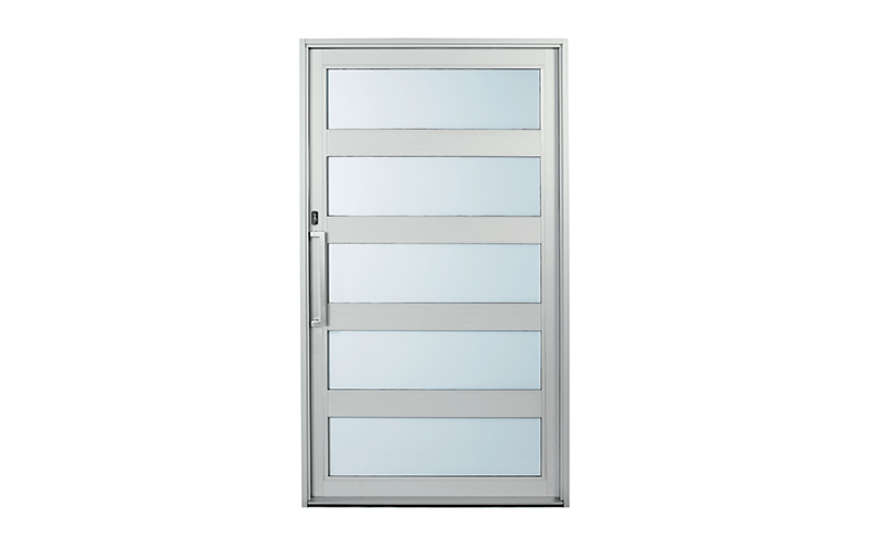 Rapid Installation Aluminium Pivot Entry Door With Modern